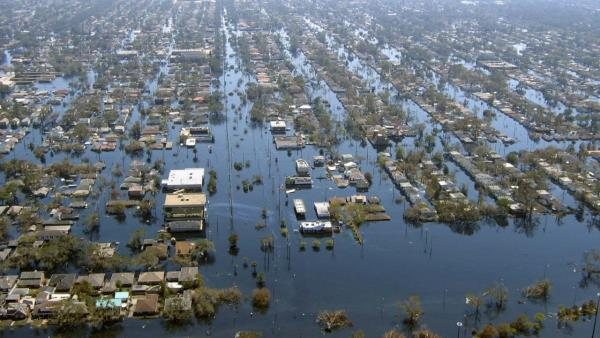 Hurikán Katrina: rekviem o čtyřech dějstvích