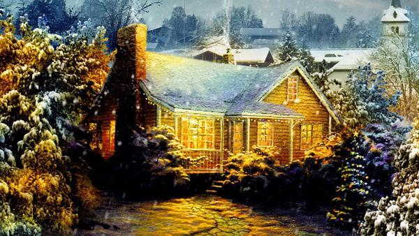 Vánoční chaloupka