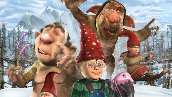 Skřítkové a trollové: Tajemná komnata