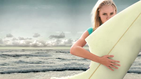 Surfařka
