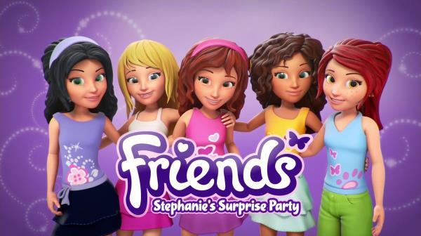 Lego Friends: Stephanie's Surprise Party