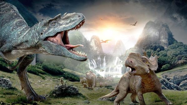 Prechádzky s dinosaurami - film v 3D