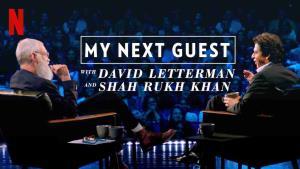 Další skvělý host Davida Lettermana: Shahrukh Khan