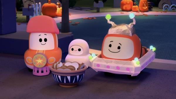 Tut tut autíčko Otík a Halloween