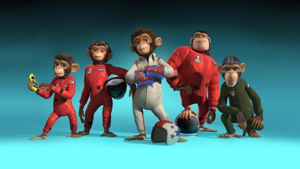 Vesmírní opičáci download