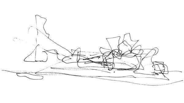 Skici Franka Gehryho