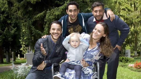 3 Türken and ein Baby