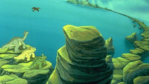 Země dinosaurů 5 - Tajemný ostrov