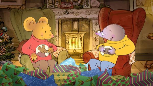 Vánoční čas Myšáka a Krtka