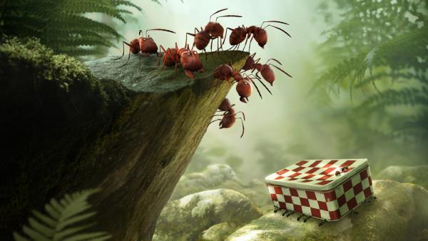 Mrňouskové: Údolí ztracených mravenců