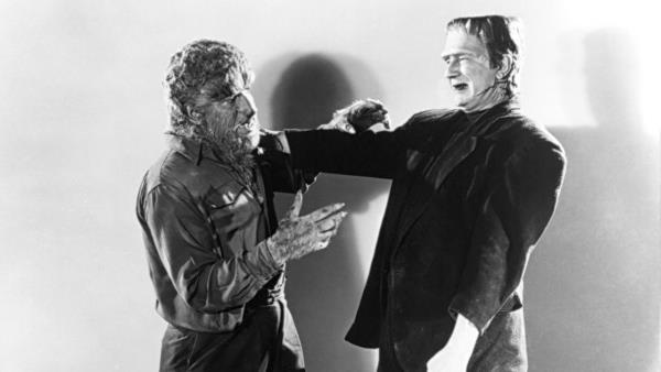 Frankenstein Meets The Wolfman