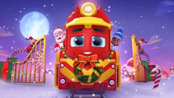 Mighty Express: Vánoční dobrodružství