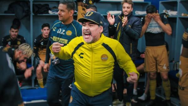 Maradona v Mexiku