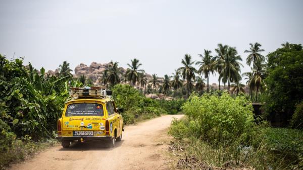 Trabantem z Indie až domů
