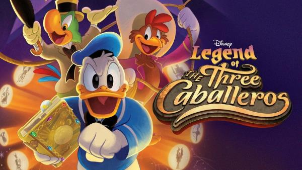 Disney Legend of the Three Caballeros