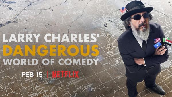 Nebezpečný svět komedie Larryho Charlese